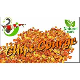 Chips de Courge en sachet