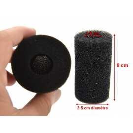Pré-Filtre mousse 8 X 3.5 cm de diamètre