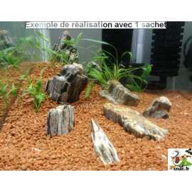 Bois Fossilisé Mica - Mini Landscape 1kg
