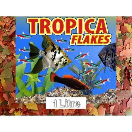 Flocons Poissons Tropicaux - 1L