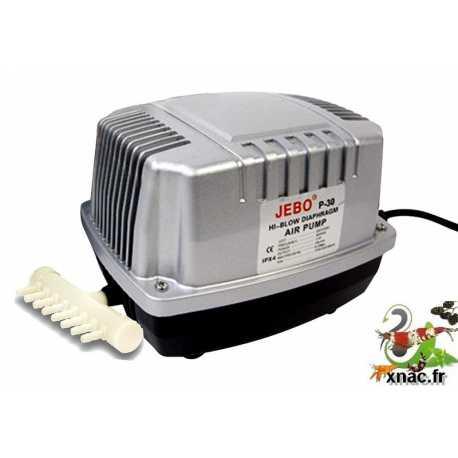 Compresseur à diaphragme pour batterie aquarium - 1500L/h